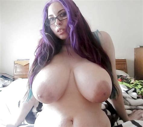 hot purple haired bbw with big tits ginge87