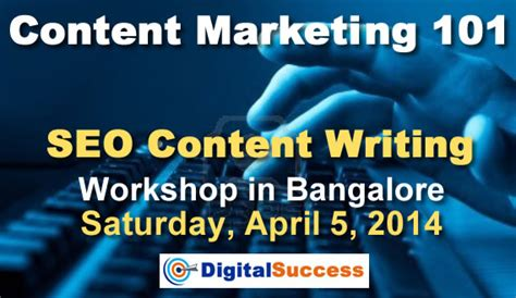 Content Marketing Course by Book Seo Content Writing Workshop Bangalore