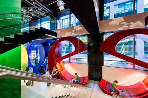 Googles New Office In Dublin by World Of Architecture Inside Of Office In Dublin