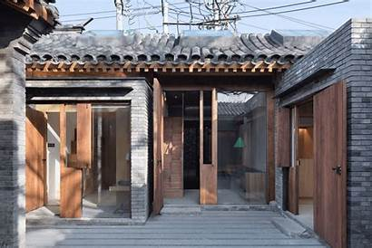 Courtyard Pagoda Temple Archdaily Architecture Renovation Hutong
