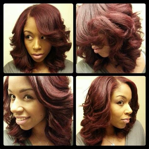 25 best ideas about roller set hairstyles on