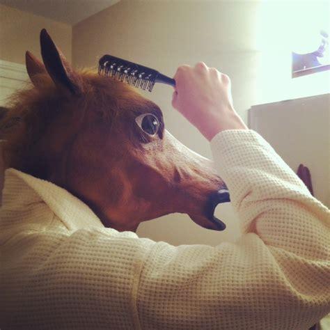 Horse Head Meme - image 358628 horse head mask know your meme