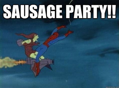 Sausage Party Meme - sausage party 60s spiderman meme quickmeme
