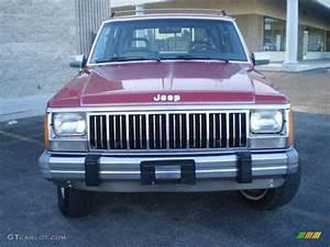 Jeep Cherokee 1990 : 1990 colorado red jeep cherokee laredo 4x4 23570032 car color galleries ~ Medecine-chirurgie-esthetiques.com Avis de Voitures