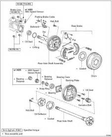 toyota tacoma front end parts 2000 tundra rear brakes leaking diff toyota tundra