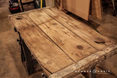Wwii Ship Hatch Turned Coffee Table  Hammer & Moxie
