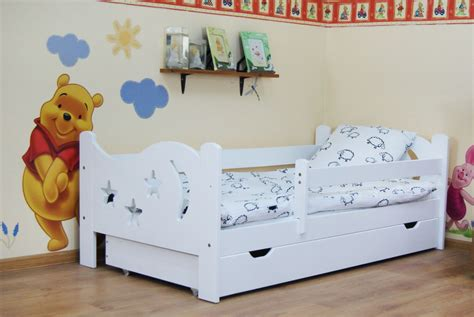 Camilla 160x80 Toddler Bed White+ Coco & Foam Mattress And