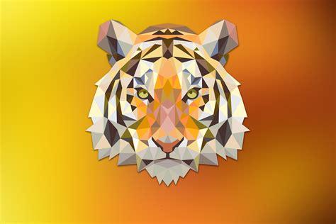 Polygon Animal Wallpaper - geometric polygon hdwallpaperfx