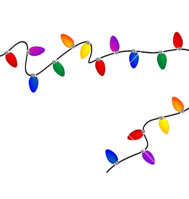 christmas lights vector clipart panda free clipart images