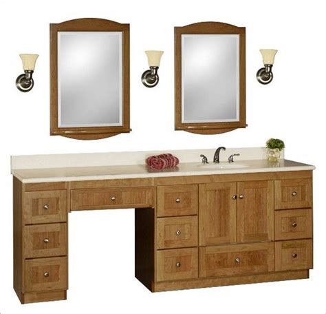 bathroom sink with makeup vanity single vanity with a makeup table makeup area