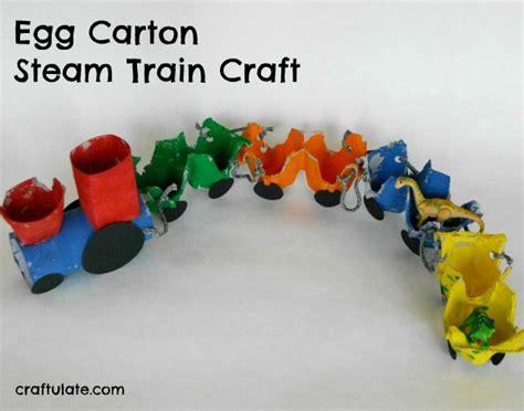 egg steam craft craftulate 217   egg carton train