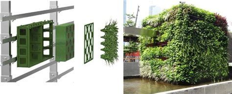 Garden Modules by China Plastic Modular Planter For Living Wall Vertical