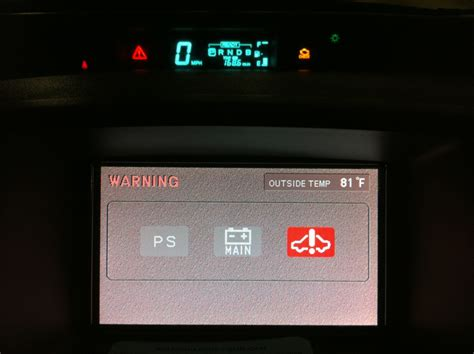 prius warning lights exclamation point toyota prius red triangle warning light check engine light