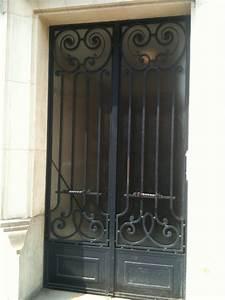 porte en fer forge leonard porte en fer forge style With de couleur peinture 5 portail fer forge style classique cadre chapeau de