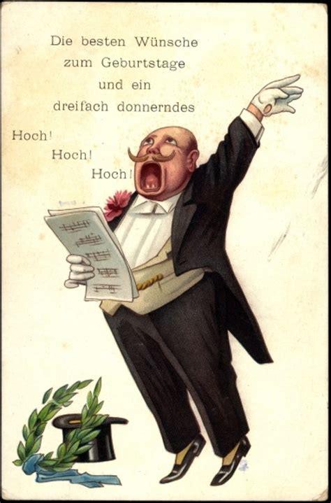 ansichtskarte postkarte glueckwunsch geburtstag mann