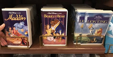 '90s Nostalgia Comes To Disney Parks With New Vhs-styled