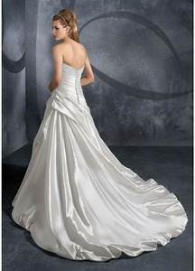 modern taffeta zipper chapel train bridal wedding dress With wedding dress 200
