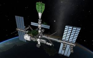 Mirai space station (full version in KSP) by ...
