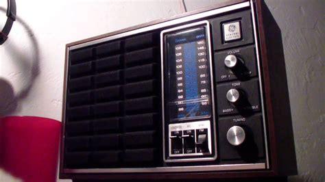 midnight  fm dxing   general electric monogram series radio youtube