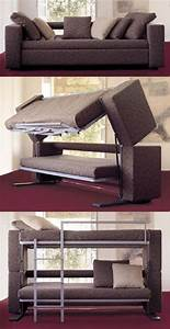 Sofa that turns into bunk beds ar15com for Sectional sofas that turn into beds