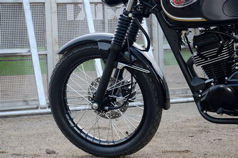 Kawasaki W175 Image by Kawasaki W175 And 175se Motorcycles In Thailand