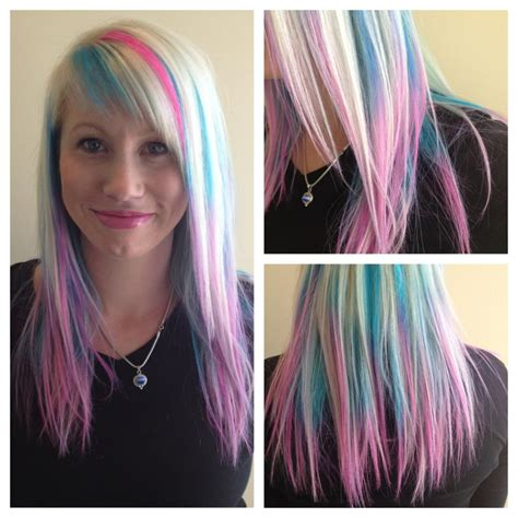 Tint Hair Chalk Hair Colors Ideas