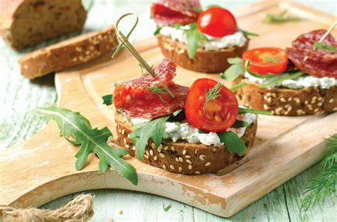 Brusketa me djathë të bardhë - Rtv Pendimi