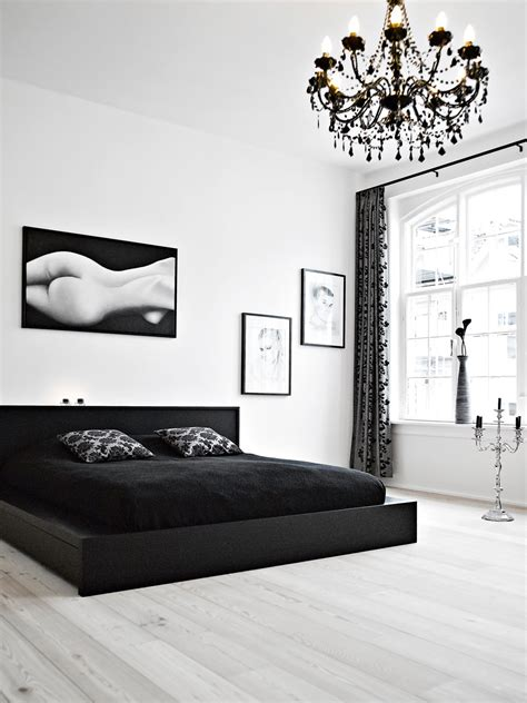 Bedroom Black by 40 Beautiful Black White Bedroom Designs