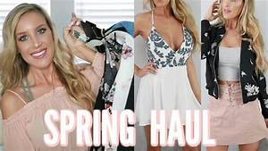 SPRING 2017 CLOTHING HAUL | Forever 21, Windsor, Zara ...