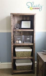 DIY Kentwood Bookcase - Shanty 2 Chic
