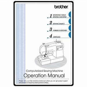 Instruction Manual  Brother Sq9050   Sewing Parts Online