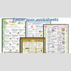 English Teaching Worksheets Easter Quiz