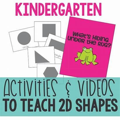 Shapes 2d Kindergarten Shape Activities Teach Cuboid