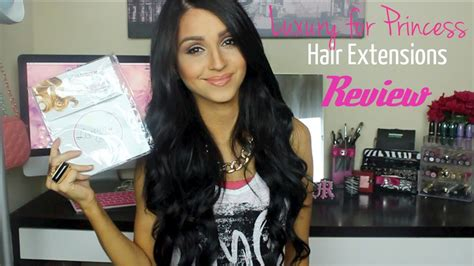 hair extensions ft luxury  princess review youtube