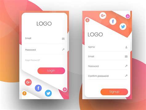 top  app login screen examples  spark  inspiration