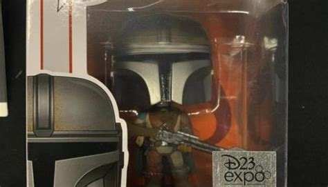 D23 The Mandalorian Funko Pop Revealed and the Box May ...
