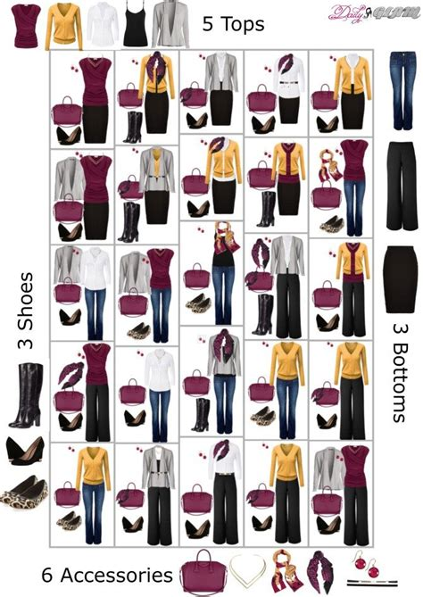 dressed  fall capsule wardrobe osennie