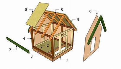 Dog Plans Diy Kennel Pdf Build Simple