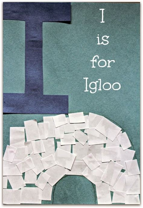 i is for igloo alphabet activities igloo craft letter 569 | 352ea9e1e8b3a44b5fb11af4a848d571