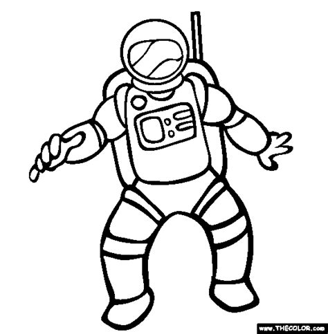 astronaut clipart black and white astronaut line drawings pics about space