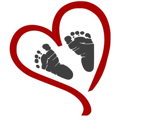Free transparent baby feet vectors and icons in svg format. Comes with a FREE svg FILE Heart with Baby Footprints | Etsy