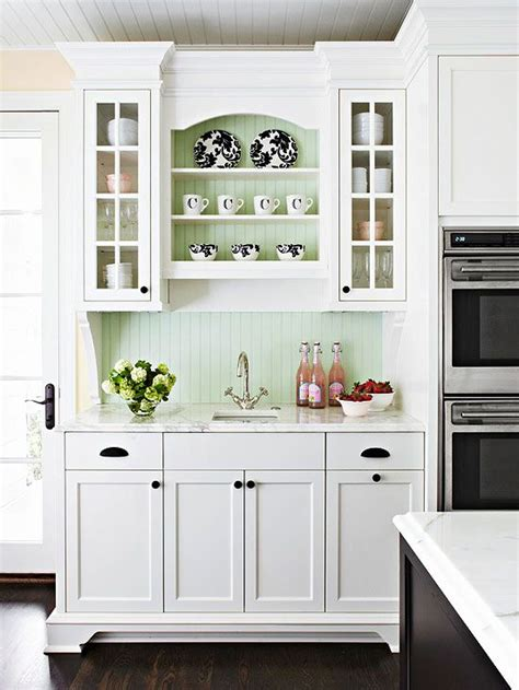 cottage style kitchen backsplash kitchen decorating beadboard backsplash cottage 5911