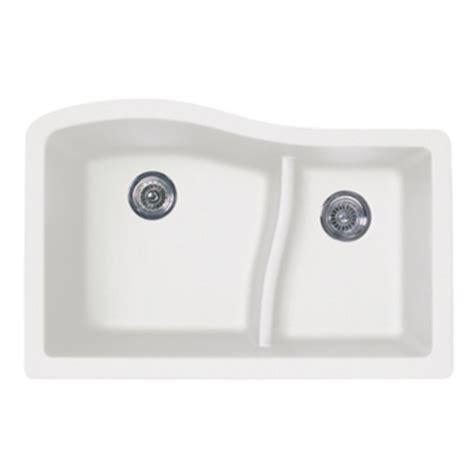 swanstone undermount granite kitchen sink swanstone quls 3322 076 granite large small undermount 8417