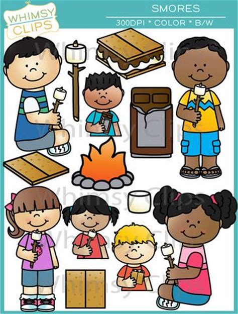 kids sharing food clipart black  white   cliparts
