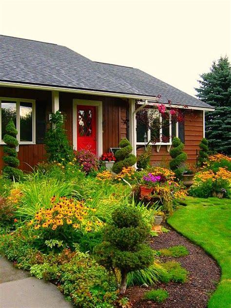 25+ Bästa Front Yard Gardens Idéerna På Pinterest