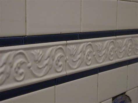 bathroom tile border ideas subway tile border shower tile ideas white classic subway tile border idea bathroom