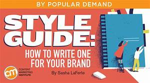 Style Guide  How To Write One For Your Brand