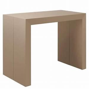 Console Blanche Pas Cher : table a rallonge pas cher conceptions de maison ~ Dailycaller-alerts.com Idées de Décoration