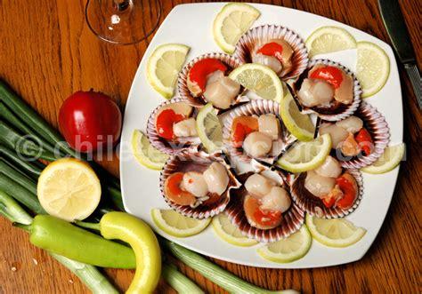 cuisine coquilles jacques gastronomie et cuisine du chili spécialités nationales