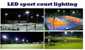 Outdoor led sport court lighting w